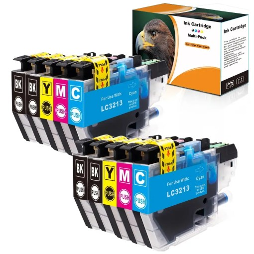 LC3213 Multipack voor Brother van 10 inktpatronen