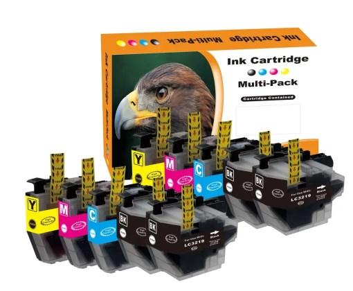 Multipack voor de Brother LC3219 van 10 inktpatronen