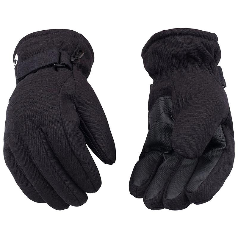 Wool Gloves Black Small