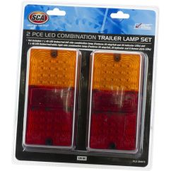 Narva 7 Pin Flat Wiring Diagram Ford Starter Drive Replacing Trailer And Lights Sca Lamp Led Rectangle Combination 2 Pack Scanz Hi