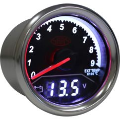 Fpv Gauge Wiring Diagram Heating Systems Central S Plan And Gauges Accessories Supercheap Auto Saas Dual Exhaust Temperature Volt Trax Black Scaau Hi Res