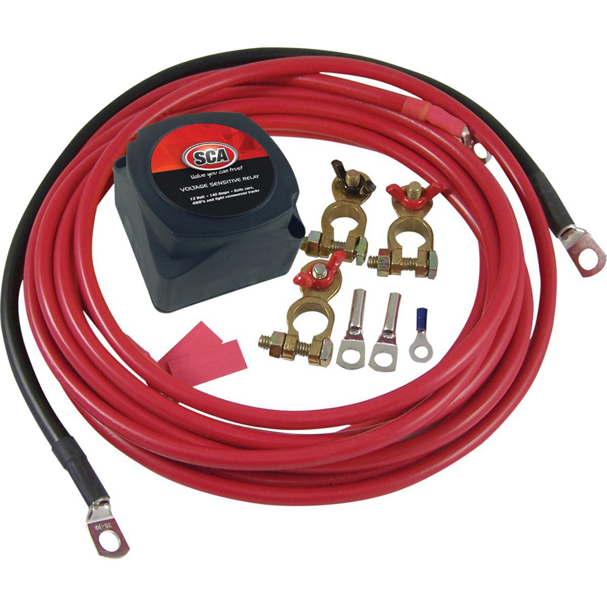 hight resolution of sca dual battery isolator kit 12 volt scaau hi res