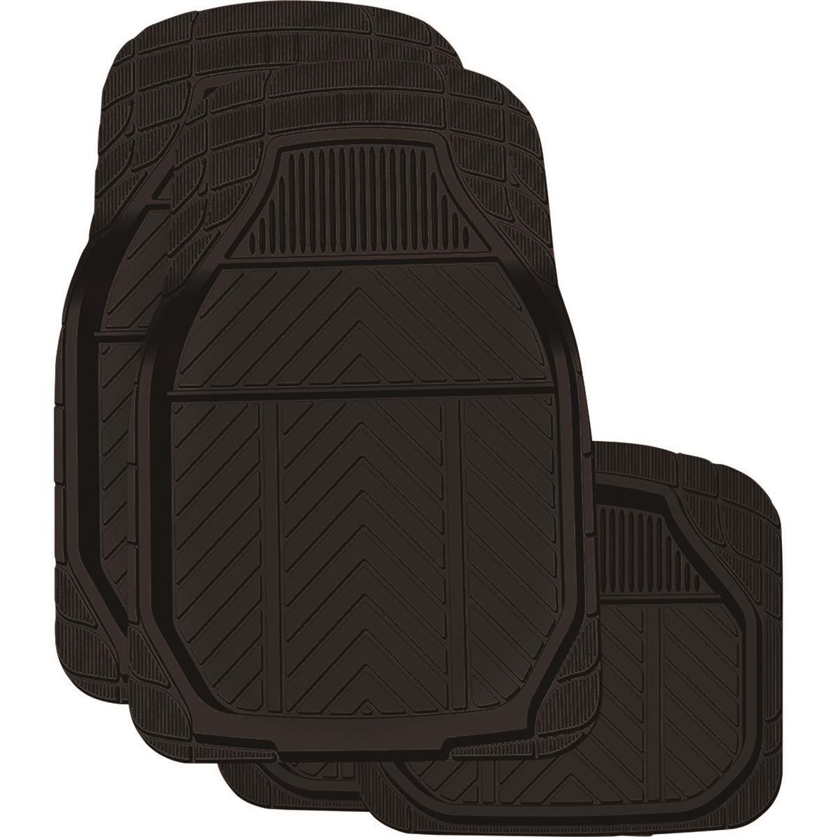 ridge ryder deep dish car floor mats rubber black set of 4 supercheap auto [ 1000 x 1000 Pixel ]