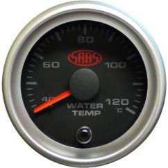 Fpv Gauge Wiring Diagram 1993 Chevrolet Pickup Gauges Accessories Supercheap Auto Saas Water Temperature Black 52mm Scaau Hi Res
