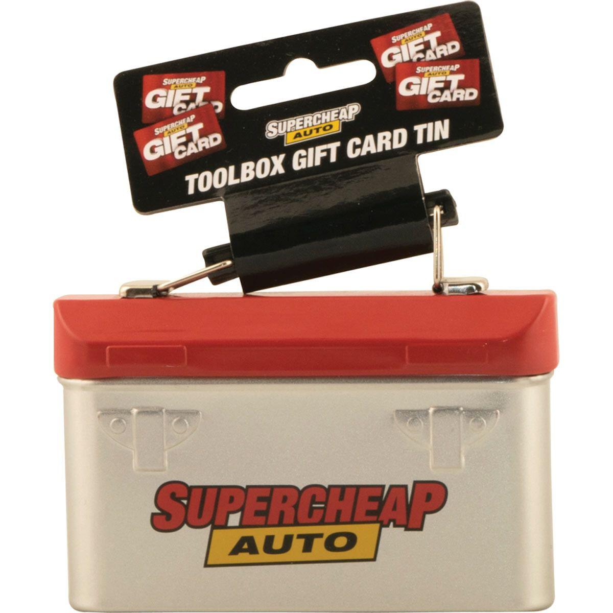 Gift Card Holder Toolbox | Supercheap Auto