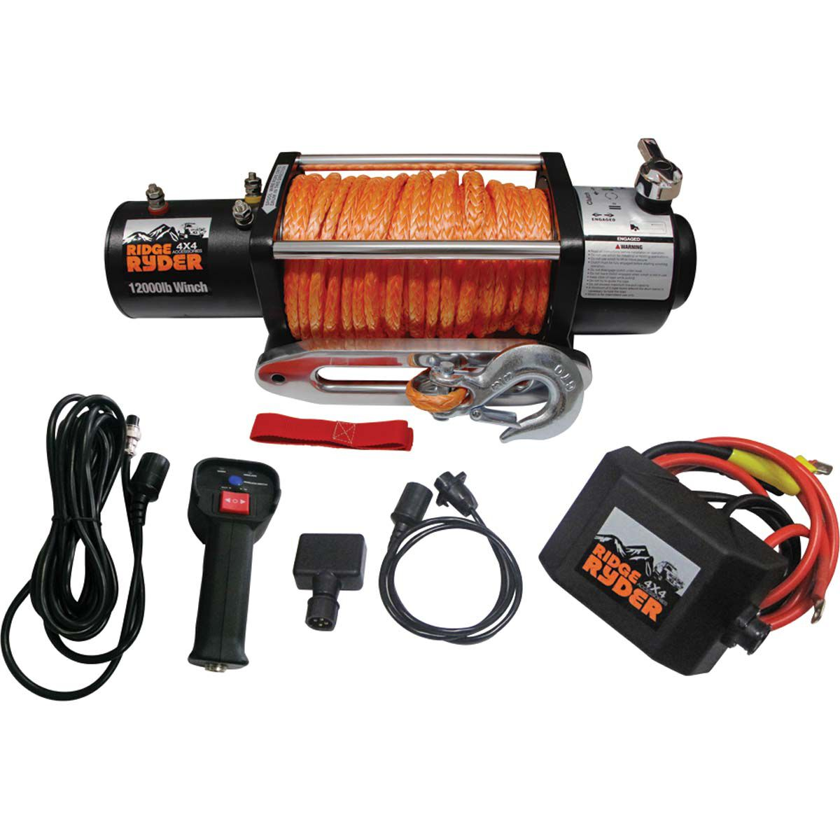 small resolution of ridge ryder electric winch 12000lb 12 volt scaau hi res