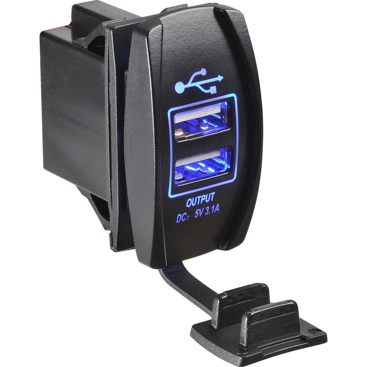 narva rocker switch wiring diagram rcd switches panels supercheap auto dual 12 24v usb led blue scaau hi