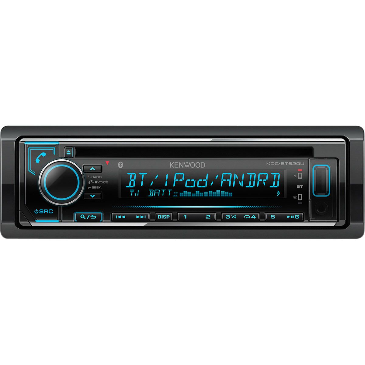 kenwood cd digital media player with bluetooth kdc bt620 scaau hi  [ 1000 x 1000 Pixel ]