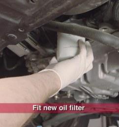 step 6 install new oil filter [ 1920 x 1080 Pixel ]