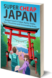 Super Cheap Japan guidebook