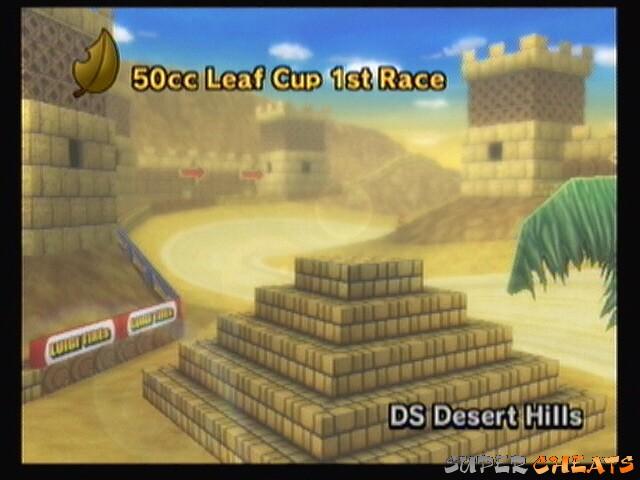 DS Desert Hills LC Mario Kart Wii Guide