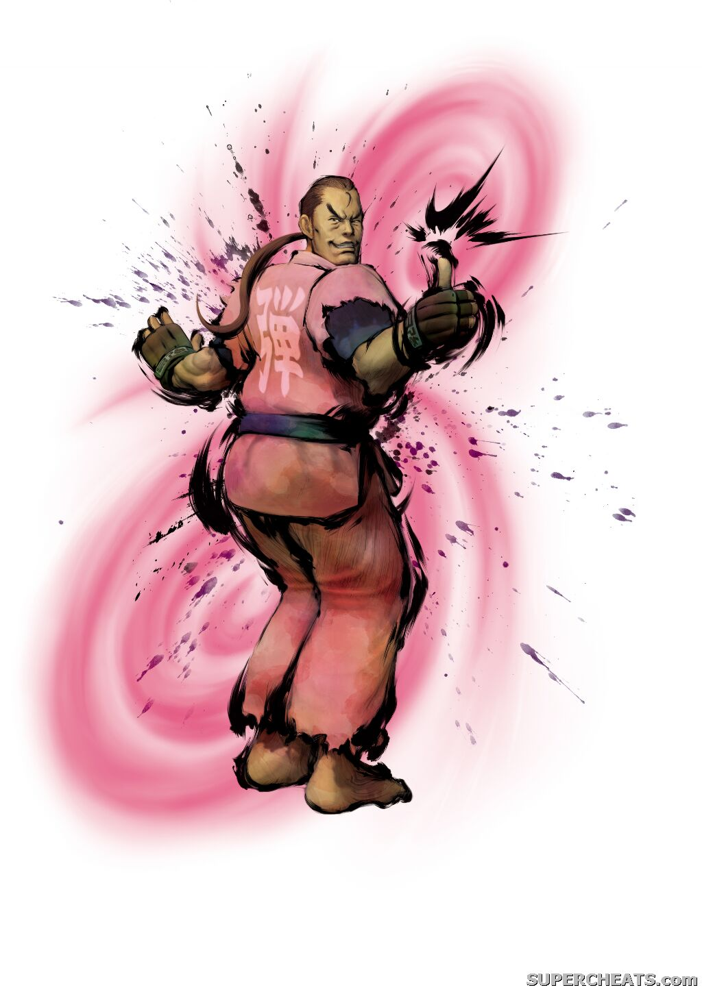 Character Art Street Fighter IV Guide