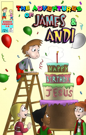 Happy Birthday Jesus Cover