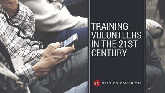 training volunteers