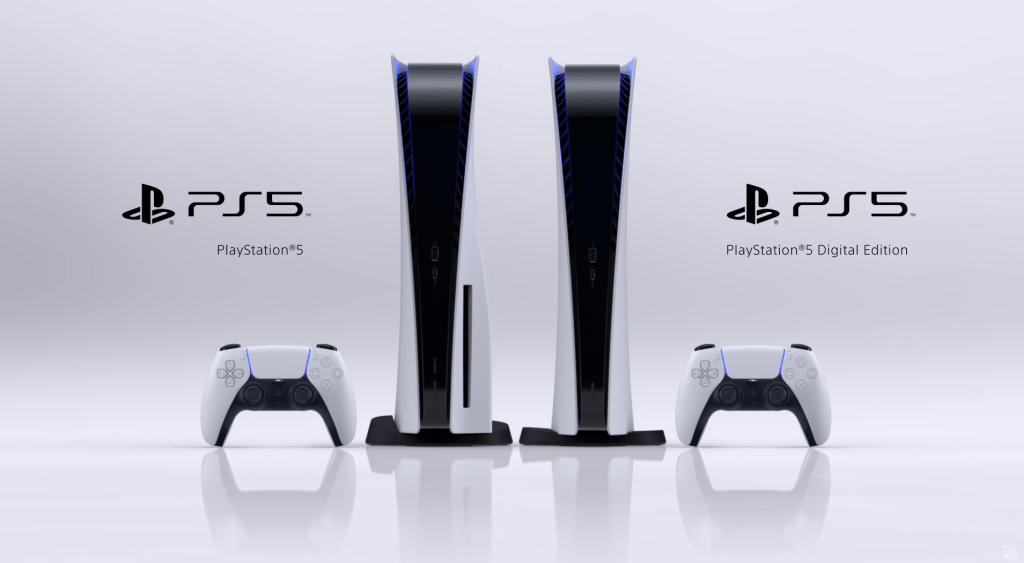 Two versions of the PlayStation 5 (PS5) will be released.  A Blu-Ray version and a Digital version.