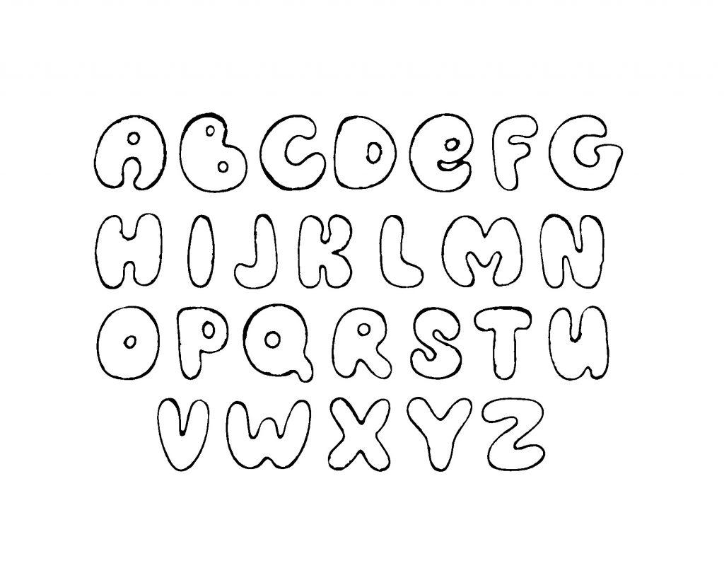 Alphabet Malvorlagen Kostenlos