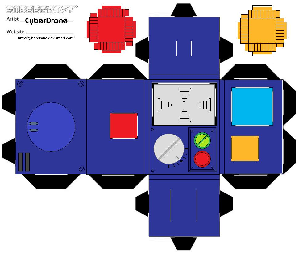 hight resolution of pke meter toon paper toy