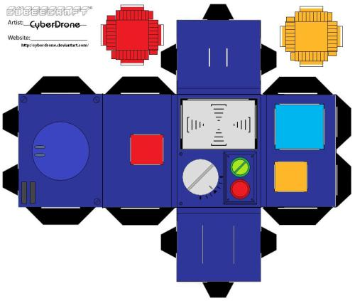 small resolution of pke meter toon paper toy