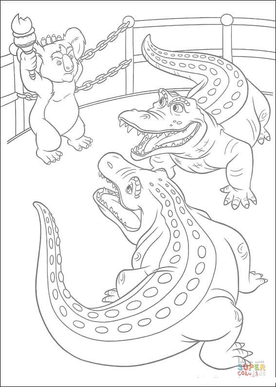 Stan And Carmine The Alligators Are Talking With Nigel
