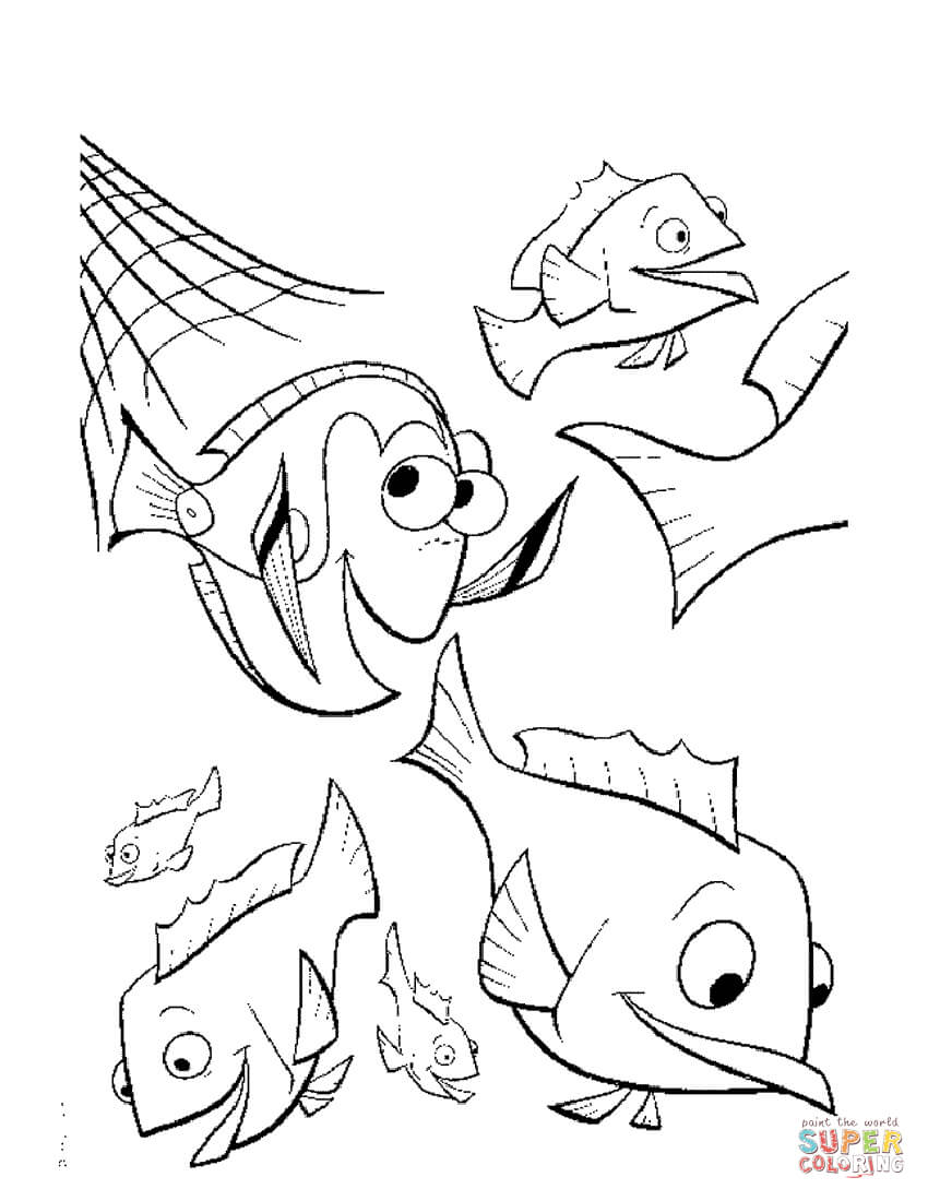The Fishing Coloring Page Free Printable Coloring Pages