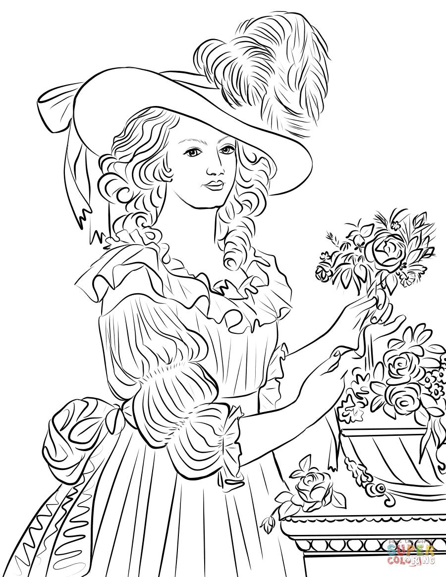 Marie Curie Coloring Page Coloring Coloring Pages