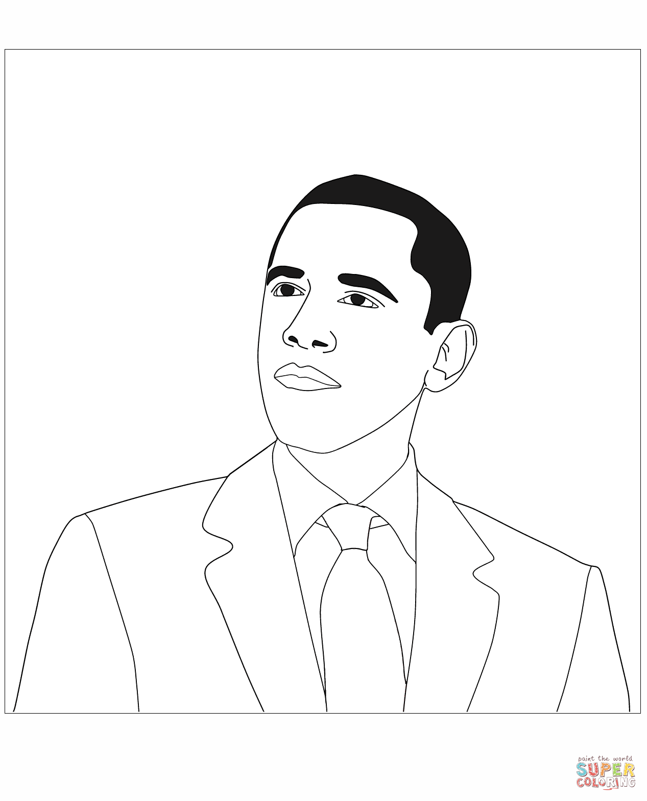 Donald Trump Coloring Page Free Printable Coloring Pages