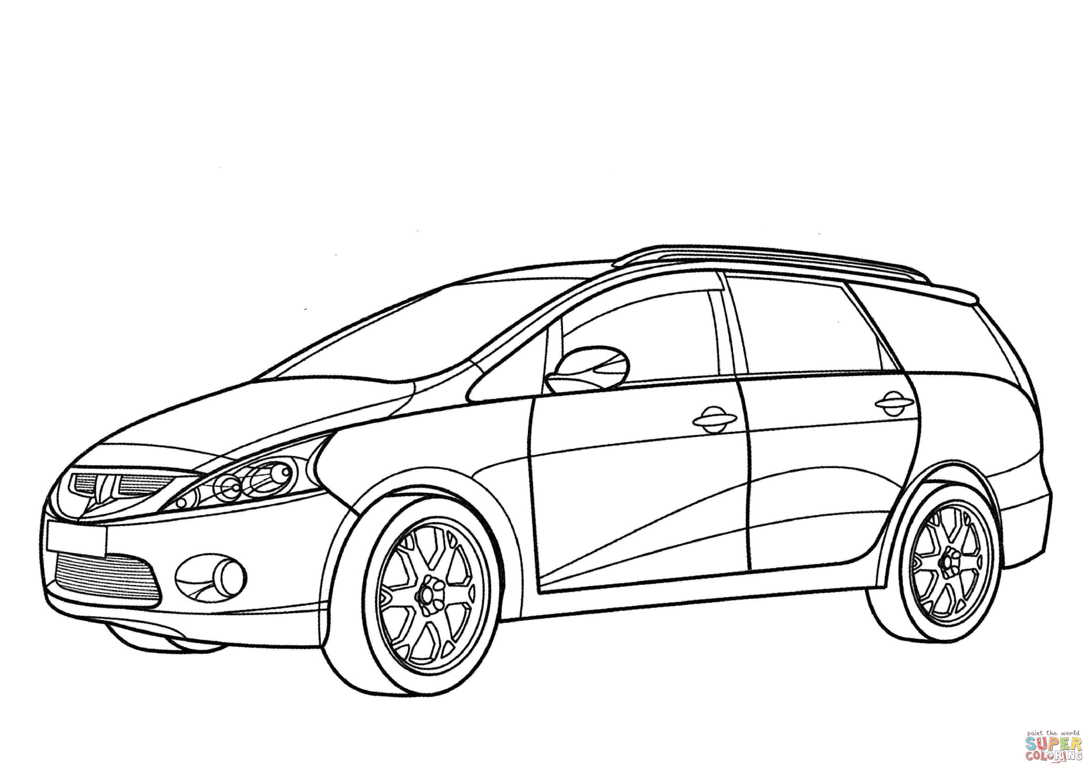 Mitsubishi Lancer Evo Coloring Pages Coloring Pages