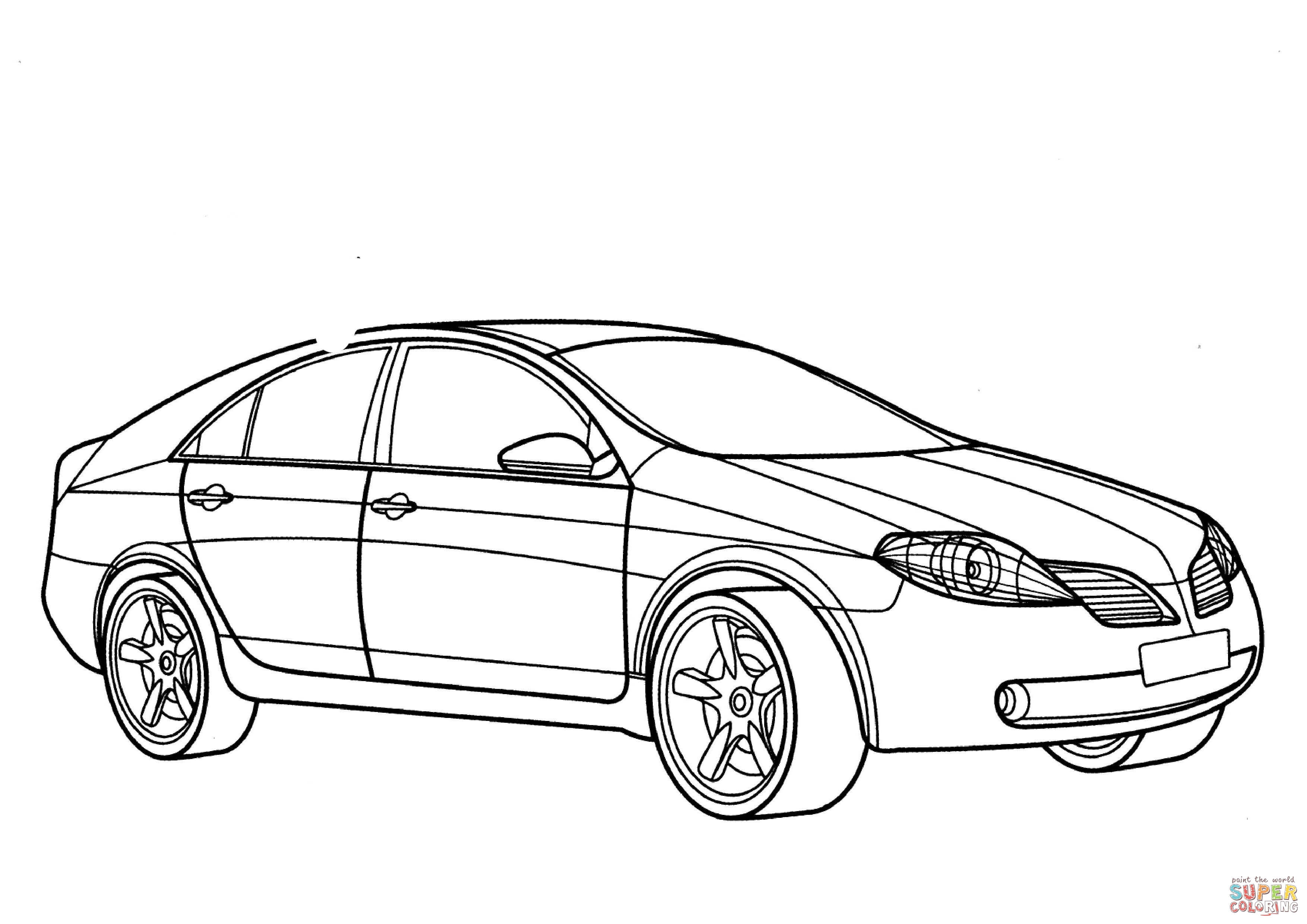 Gtr Logo Coloring Coloring Pages