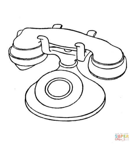 Android Phone Coloring Pages