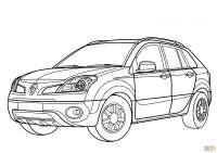 Dibujo de Renault Koleos para colorear | Dibujos para ...