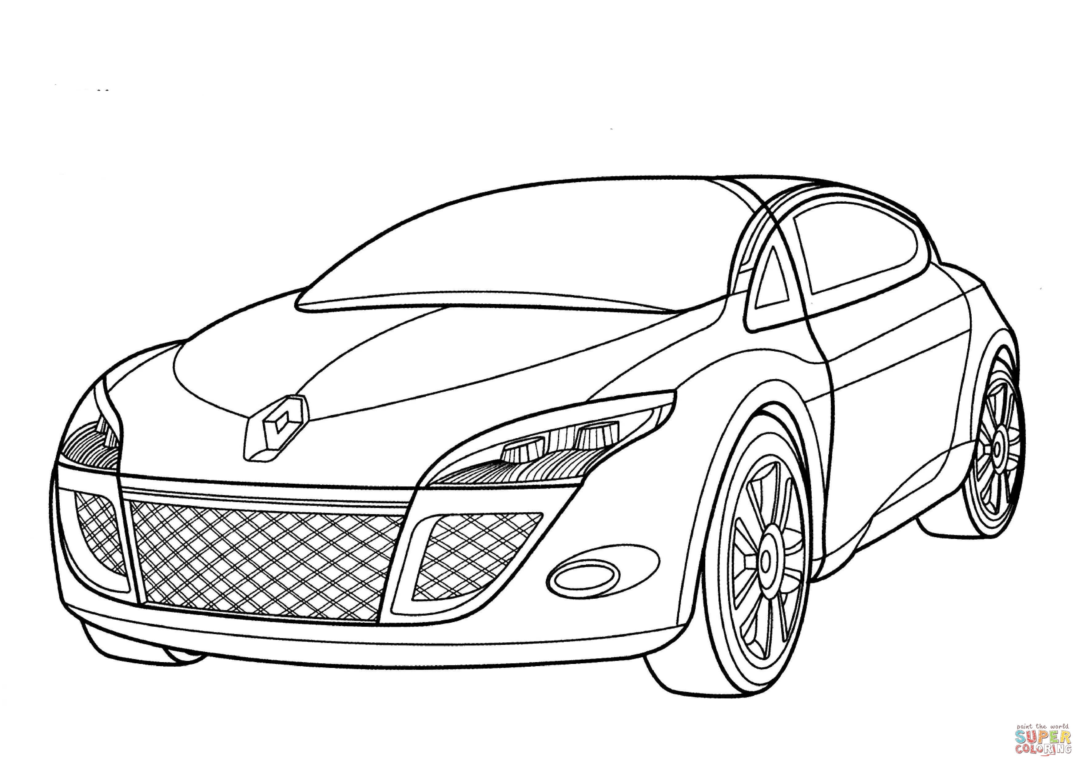 Luxe Coloriage Renault Laguna 3