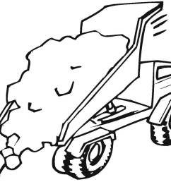 trucks coloring pages free coloring pagestipper truck is full of sand [ 1200 x 999 Pixel ]