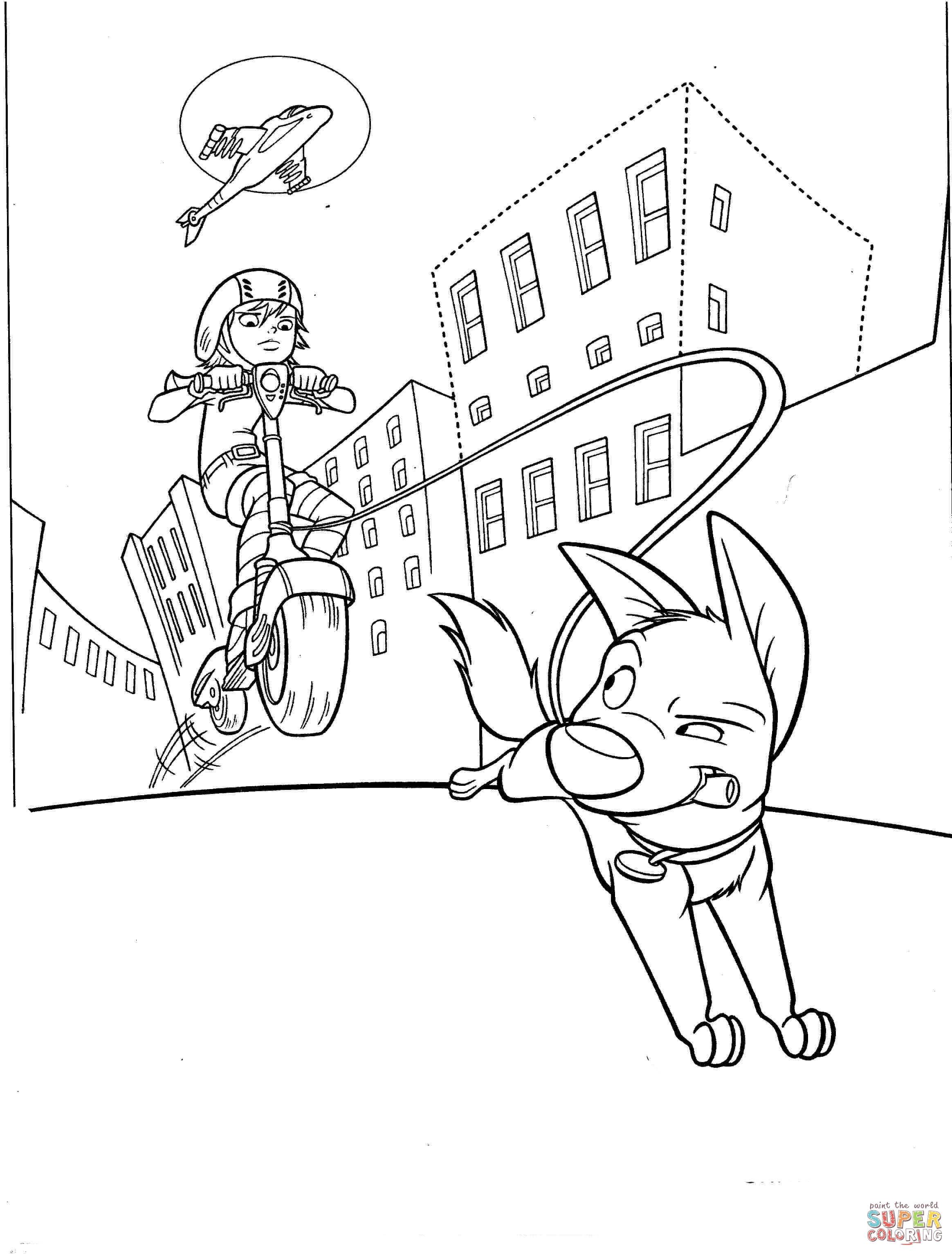 Penny Coloring Sheet Preschool Sketch Coloring Page