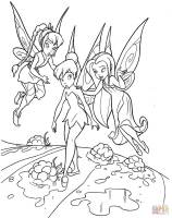 Teaching Tinkerbell coloring page   Free Printable ...