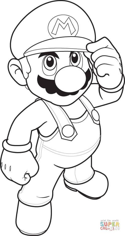 Mario Daisy Coloring Page Printable