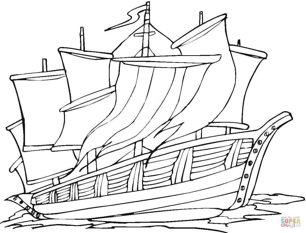 Exploring America Adventure Coloring Page