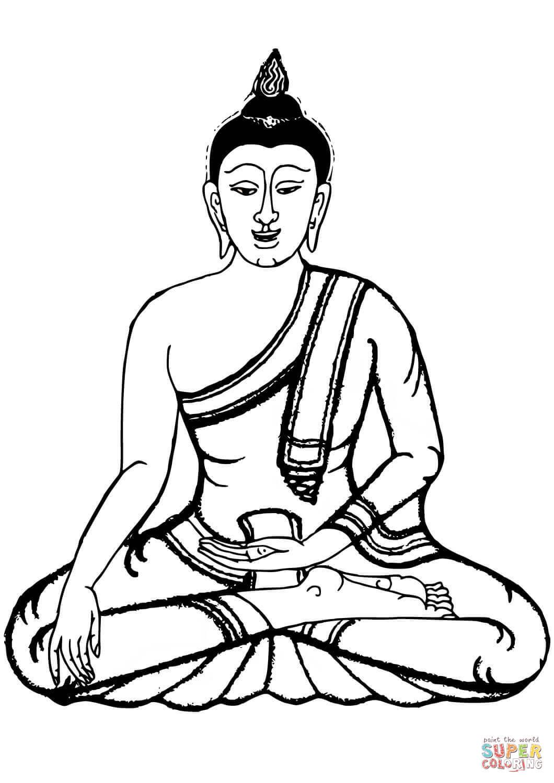 Ausmalbild Buddha Ausmalbilder kostenlos zum ausdrucken