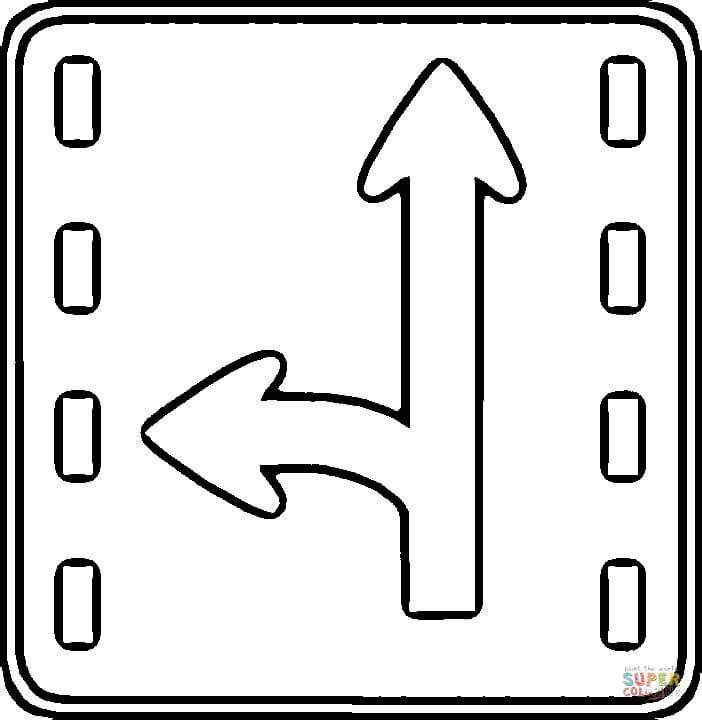 Traffic Light Coloring Sheet Garrett Morgan Picture Sketch