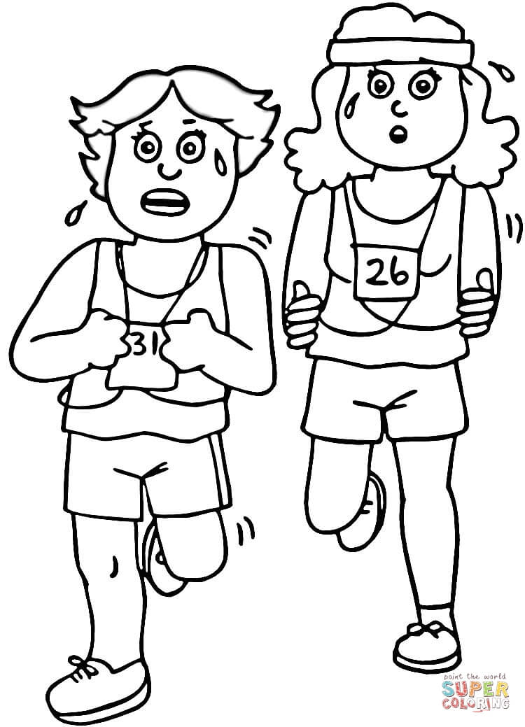 Exercise Coloring Pages Coloring Pages
