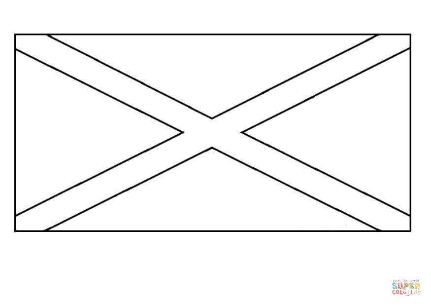Jamaican Flag Coloring Page Free Printable Coloring Pages