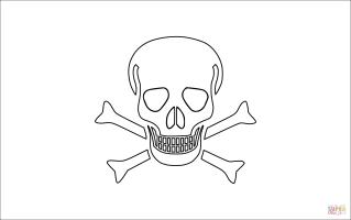 Piratenflagge Zum Ausdrucken Kostenlos