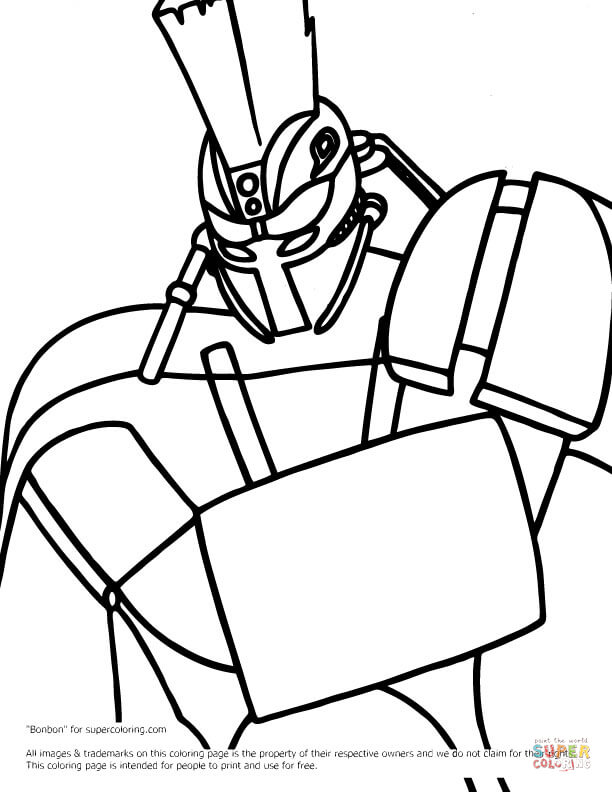 Real Steel Atom Coloring Pages To Print Coloring Pages
