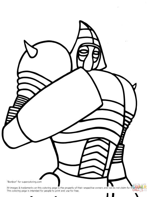 Real Steel Noisy Boy Coloring Pages Coloring Pages