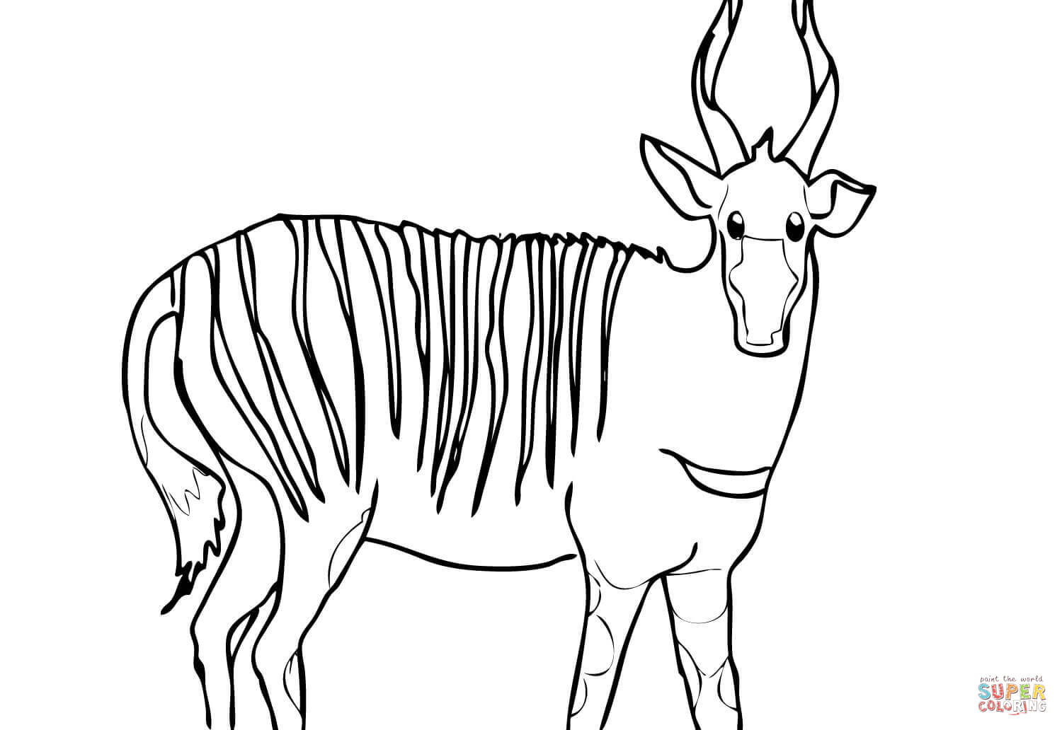 Oryx Coloring Pages Coloring Pages
