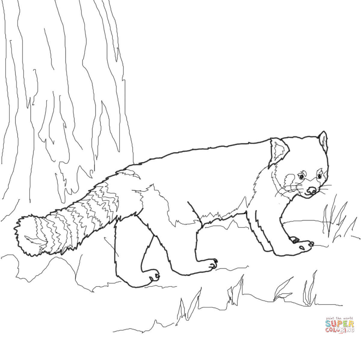 Top 25 Free Printable Cute Panda Bear Coloring Pages Online | 1128x1200