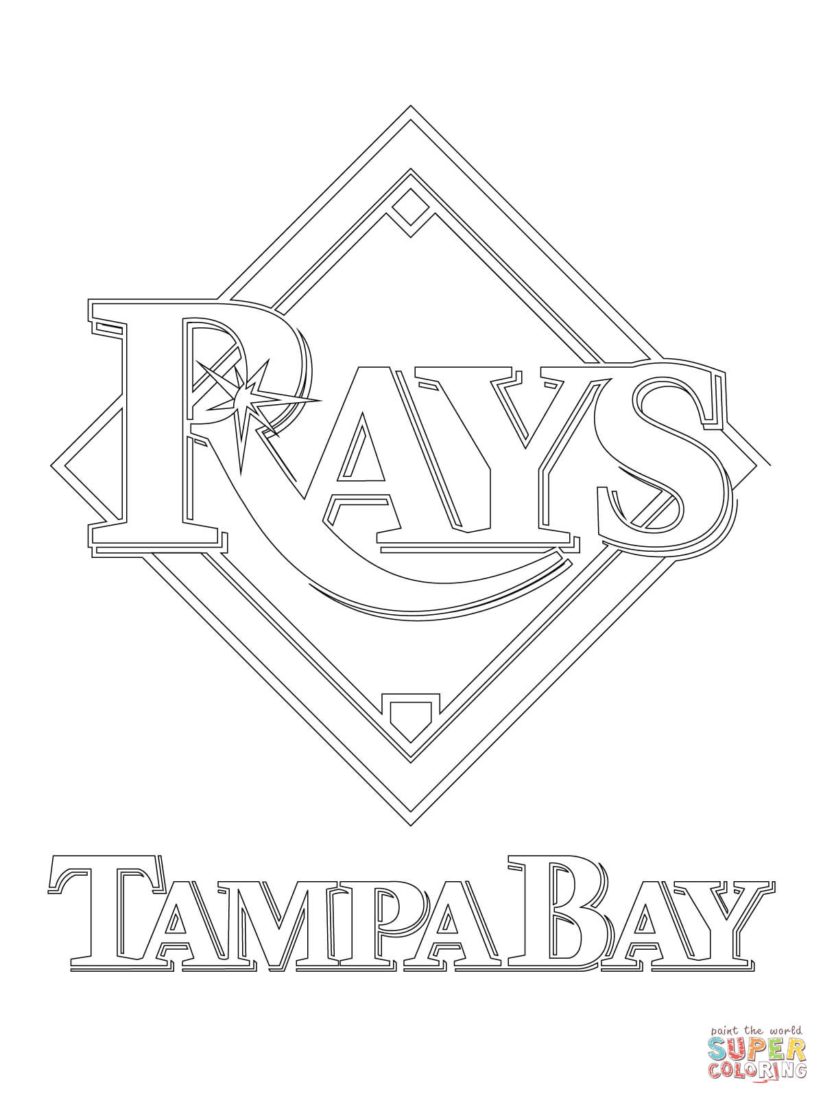 Tampa Bay Buccaneers Logo Coloring Page - Auto Electrical ... on