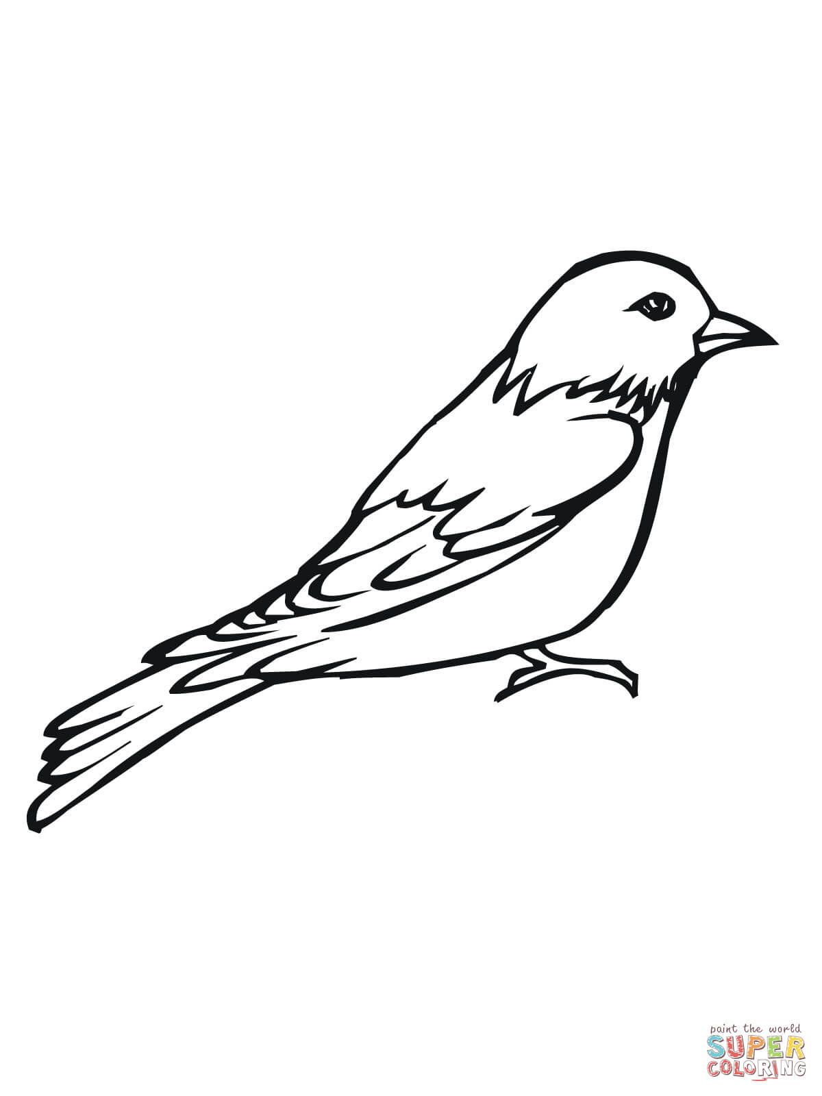 Related Keywords & Suggestions for outline lark bunting