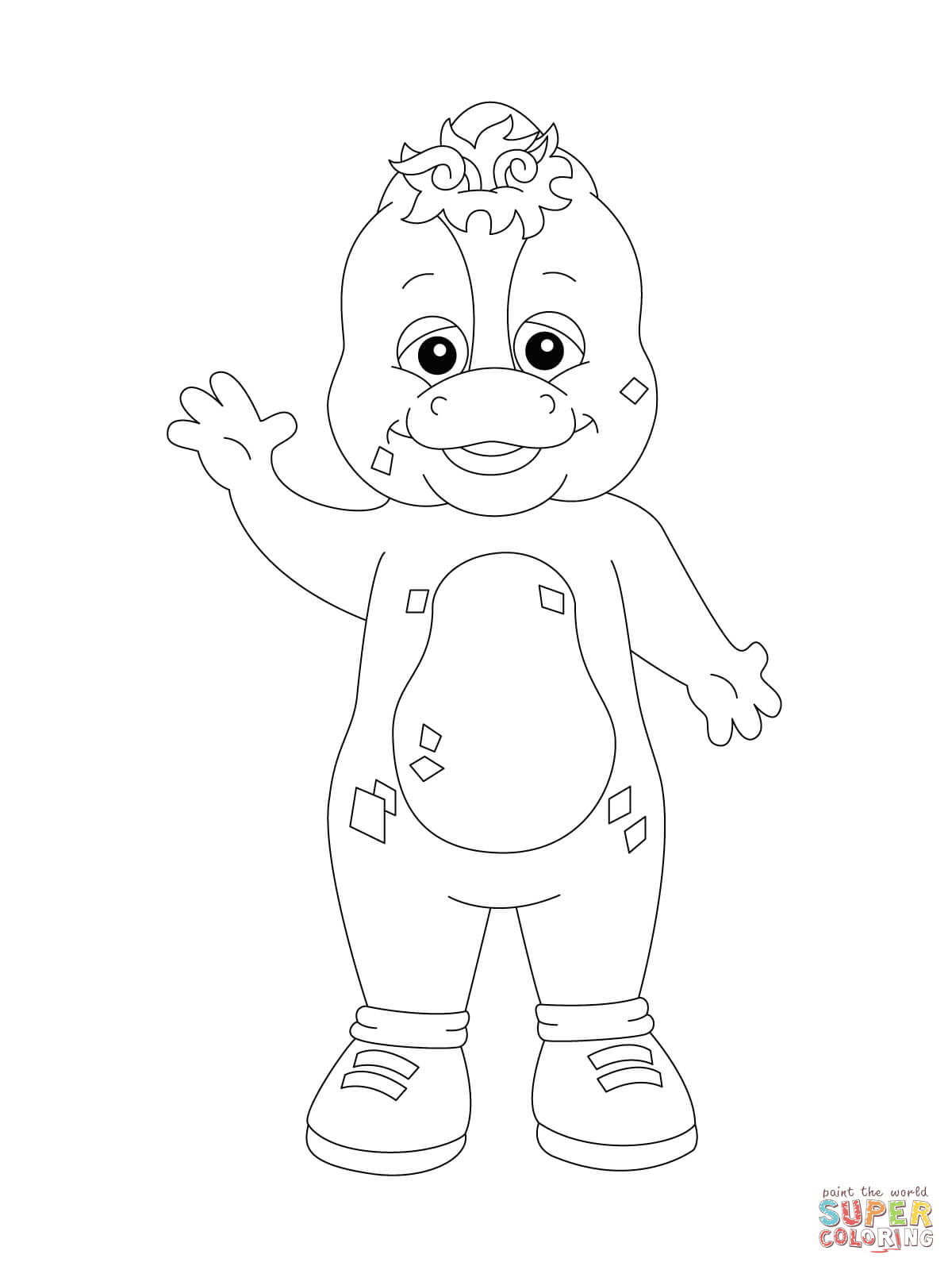 Riff Coloring Page