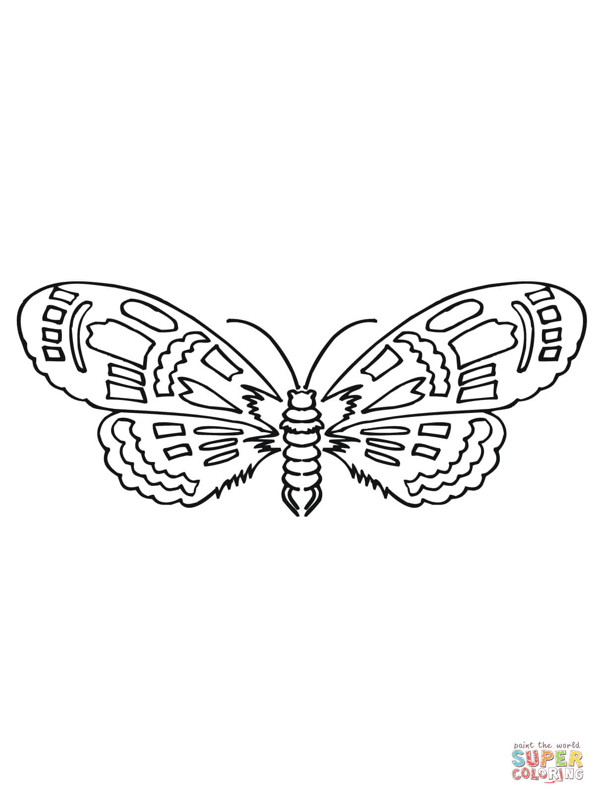 Killer Moth Pages Coloring Pages
