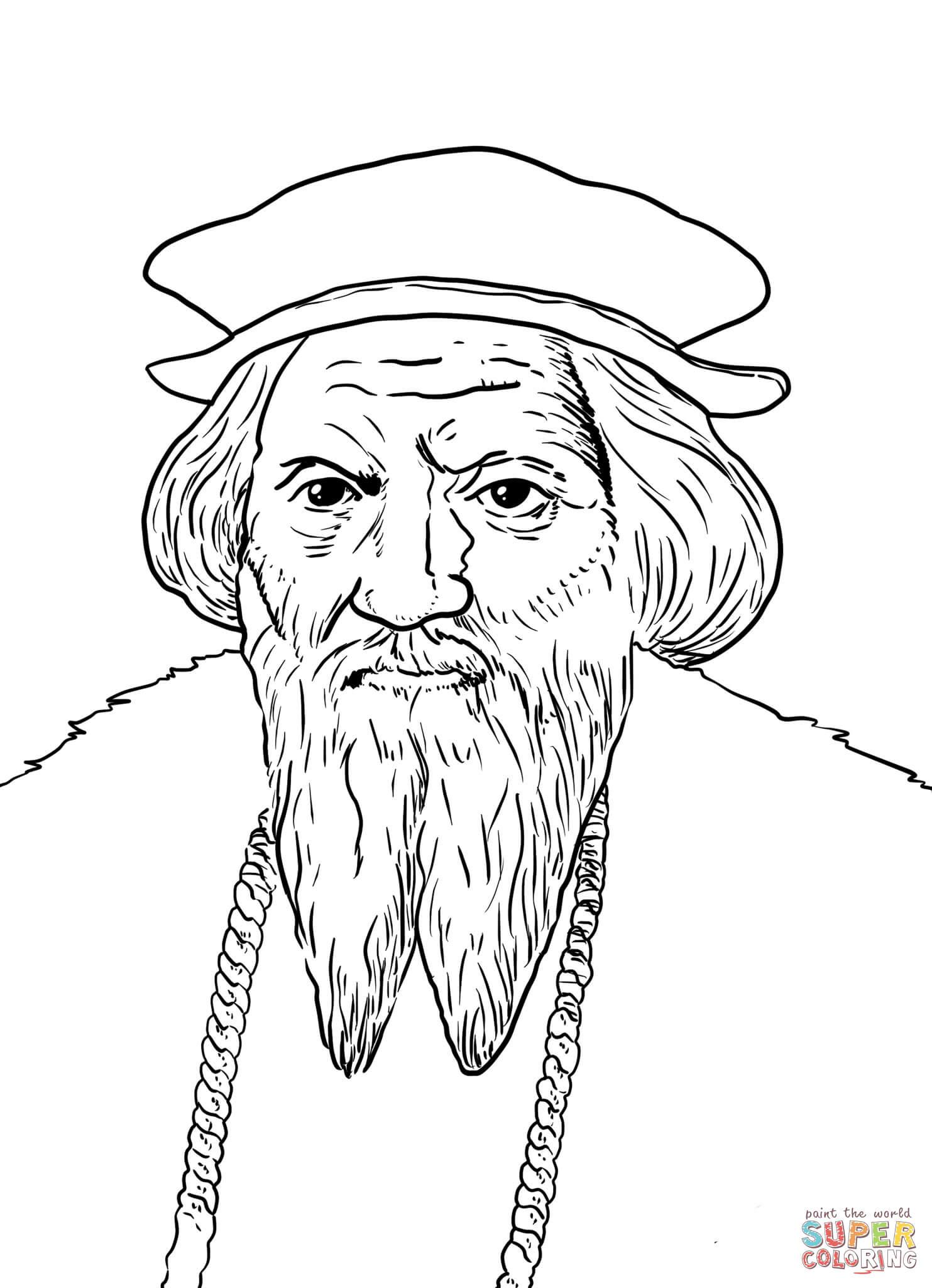 John Cabot Coloring Page